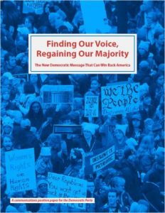 "Cover of ""Finding Our Voice, Regaining Our Majority"""